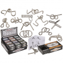 wholesale Mind Games: Metal puzzle, mini, approx. 7 cm,